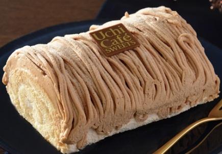 Uchi Cafe' SWEETS イタリア産栗のロールケーキ位