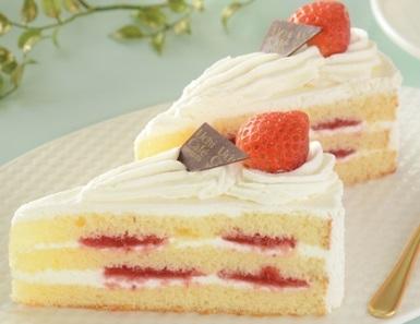 Uchi Cafe' SWEETS パーティーケーキ ストロベリーショート 2個入位