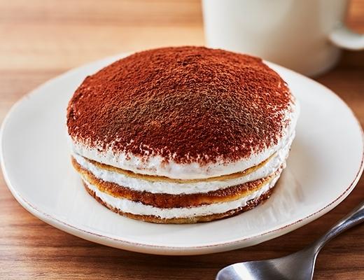 ティラミス仕立てのクリームパンケーキ位