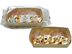 メープル&ナッツパンケーキ