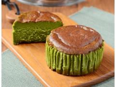 Uchi Cafe' SWEETS バスチー バスク風抹茶チーズケーキ