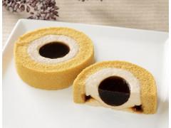 Uchi Cafe' 黒糖ロールケーキ 沖縄県産黒糖の黒蜜使用位